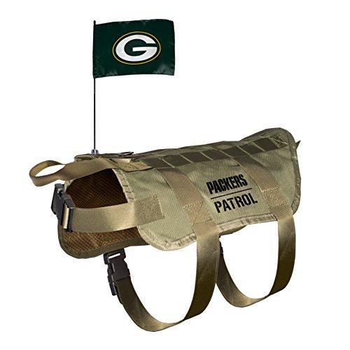 NFL Green Bay Packers Pet Tactical Vest, XL/Big Dog