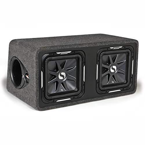 KICKER 11DS12L72 L7 Dual-Bassreflexbox Schwarz