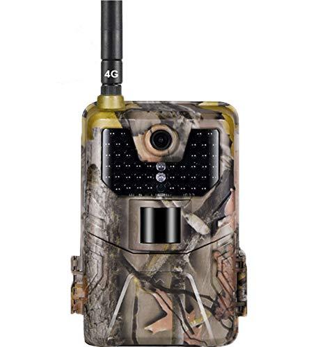KTYX LTE 2G Cellular App Trail Cameras - Cámaras de Caza Inalámbricas de 20MP 1080P - Rango de Detección de 120 ° Visión Nocturna Activada por Movimiento Impermeable