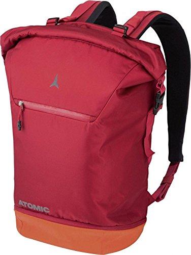 Atomic Damen/Herren Reisetasche Travel Pack, 35 Liter, 52 x 37 x 27 cm, Einrollbar, Polyester, rot/hellrot, AL5038110