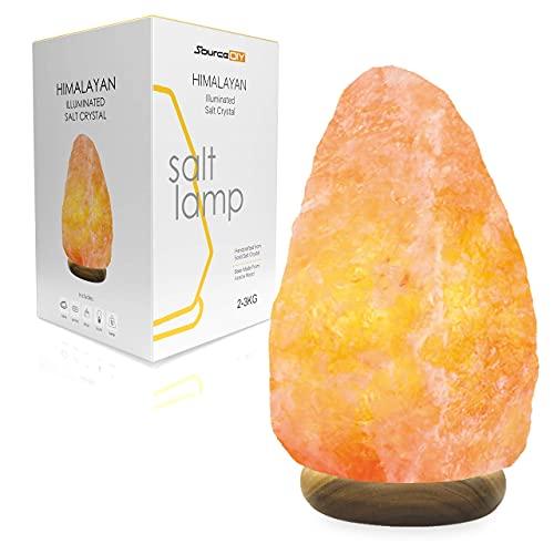 2-3 KG NATURAL HAND CARVED NATURAL HIMALAYAN PINK CRYSTAL ROCK SALT LAMP...