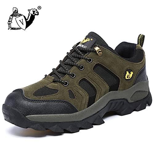 N\C Zapatos de senderismo para hombre y mujer, transpirables, zapatos de deporte para deportes al aire libre, zapatos de senderismo