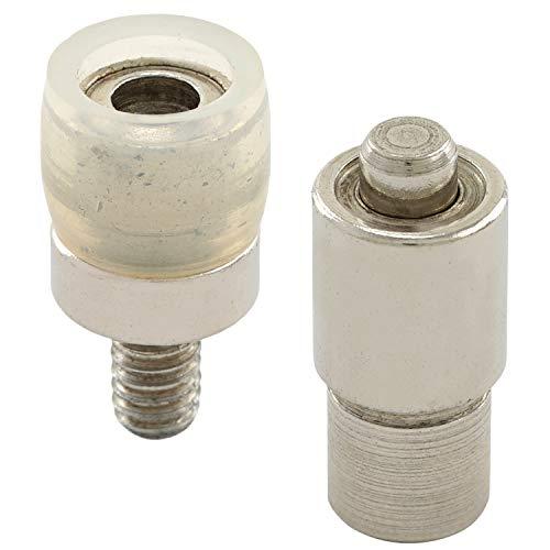 GETMORE Parts Werkzeug Jersey, Stempel, Einschlagstempel, Presswerkzeug, Druckknopfwerkzeug für Ösenpresse, Spindelprese - für Jersey-Druckknöpfe, 10,5 mm