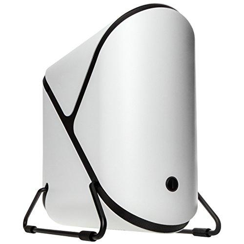 BitFenix Portal ITX-Tower Weiß - Computer-Gehäuse (ITX-Tower, PC, Acryl, Acrylnitril-Butadien-Styrol (ABS), Aluminium, SECC, Mini-ITX, Weiß, 12,5 cm)