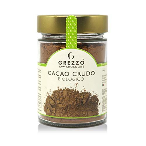 Cacao crudo in polvere biologico, bontà garantita da Grezzo Raw Chocolate (120g)
