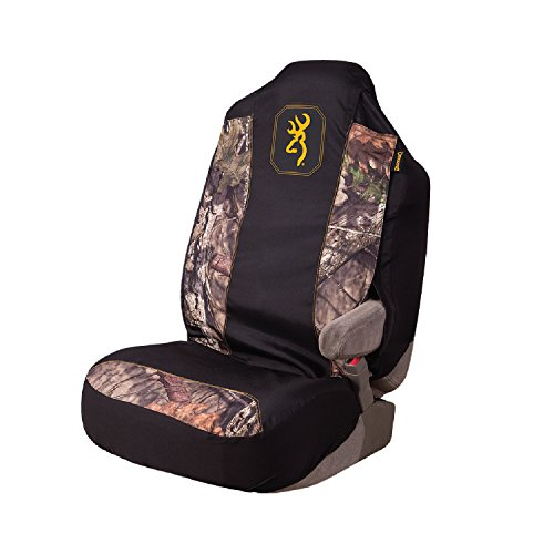 Browning Camo Seat Cover   Universal Fit   Mossy Oak Break-Up Country/Black/Gold   Single