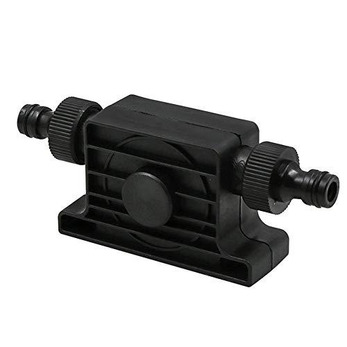 Mazhar Tragbarer 1800 m3 / h Durchfluss Selbstansaugend Übertragung Öl-flüssiges Wasser-Pumpe 8mm Schaft für Bohrmaschine mit Schlauchanschluss - Schwarz