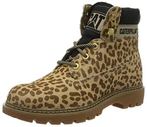 Cat Footwear Damen Lyric Kurzschaft Stiefel, mehrfarbig (Cheetah Cheetah), 36 EU