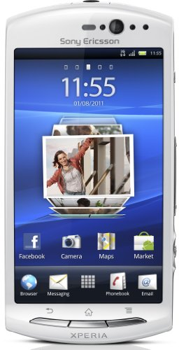 Sony Ericsson Xperia neo V Smartphone (Touchscreen, 5 Megapixel Kamera, Email-Funktion) white