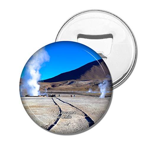 Weekino Geyser Del Tatio Atacama Chili Bière Ouvre-Bouteille Aimant De Réfrigérateur Voyage Souvenir Autocollant de réfrigérateur Fort