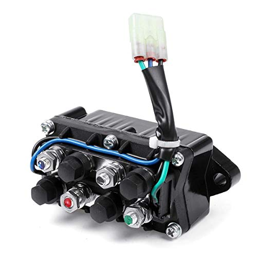 LActrical Universal Winch Solenoid Relay switch Assembly for Arctic Cat ATV Warn Winch 0409066 0409-066