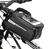 Bicicleta Ciclismo Bolsa De Manillar Impermeable, Bolsas De Carcasa Dura Universal para Scooter Eléctrico, Protector De Pantalla Táctil Impermeable, Adecuado para Bicicleta De Montaña
