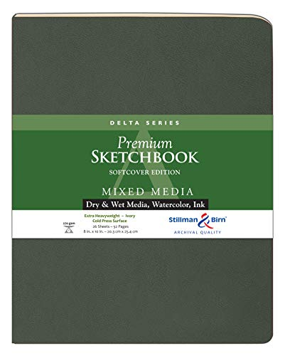 Delta Softcover Sketchbook 8X10 by Stillman & Birn