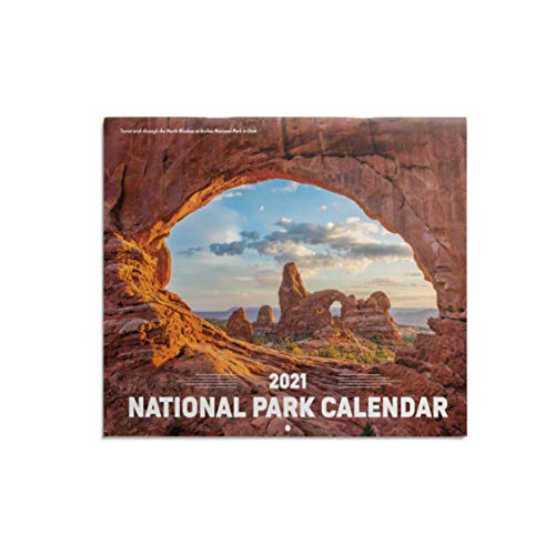 """ORMAT National Parks 2021 wall calendar 12-month wall calendar 2021 yearly wall calendar and desk calendar, premium thick paper 8.5"""" x 11"""" large monthly wall calendar 2021"""