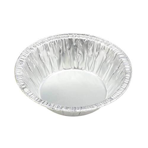 Disposable Aluminum 5 3/4' Extra Deep Pie Pan/Pot Pie Pan # 575 (50)