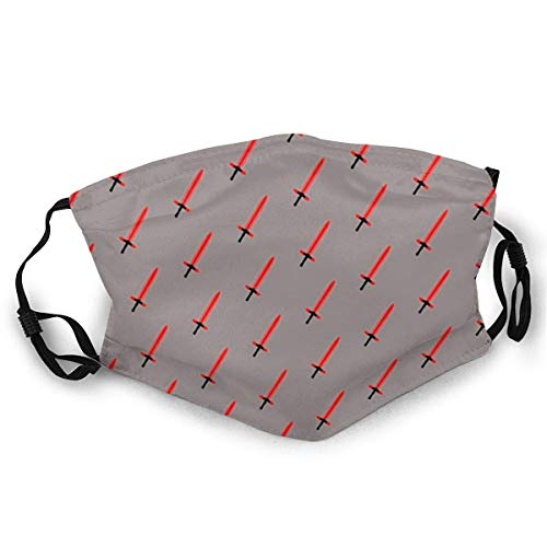 Air kong Coque anti-poussière pour visage complet Extra agressif Glow Stick Chaussettes Anti-poussière écran solaire Turban Coiffe Bouche avec deux filtres remplaçables