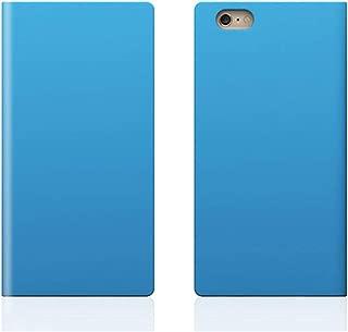【日本正规代理店商品】SLG Design iPhone6 Plus 皮革保护壳 真皮 D5 Calf Skin Leather DiarySD4847i6P 天蓝色