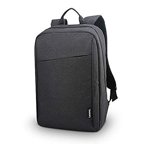 Lenovo Commuter Backpack for 15.6 Inch Laptops, 25L Weatherproof Roll Top Rucksack – Black