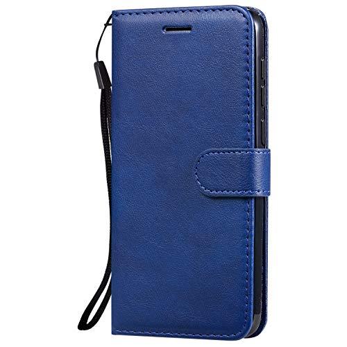Hülle für Vivo V11/V11 Pro/V11i/Y97 Hülle Handyhülle [Standfunktion] [Kartenfach] Tasche Flip Hülle Cover Etui Schutzhülle lederhülle flip case für Vivo V11 Pro - DEKT051784 Blau