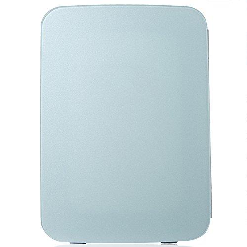 LVZAIXI Mini voiture réfrigérateur Refroidisseur & WarmerRefrigerator chauffage alimentaire électrique portable glacière voyage boîte aucun compresseur pour Camping ( Couleur : Bleu )