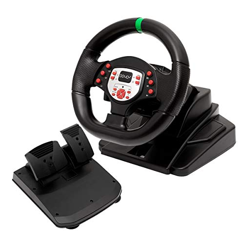 DOYO Pro Sport Steering Racing Wheel para PS3 / PS4 / XBOX One / XBOX 360 / SWITCH / PC / Android