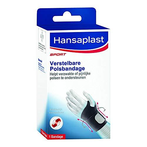 Erweitern Hansaplast Sport Verstellbare Neopren-Handgelenkbandage, Schwarz
