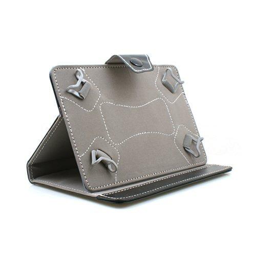 SYSTEM-S 'Sistema de S 7Pulgadas Universal Libro Folio Funda Cover Carcasa con función Atril para Tablet PC, Ebook Reader, Color Negro