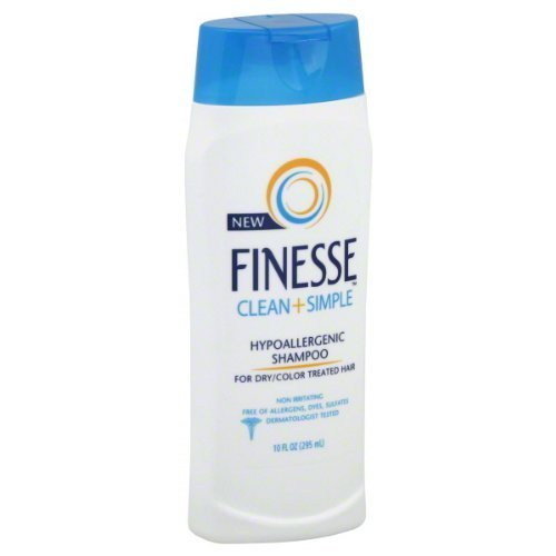Finesse Clean & Simple Hypoallergenic Shampoo for Dry/Color Treated...