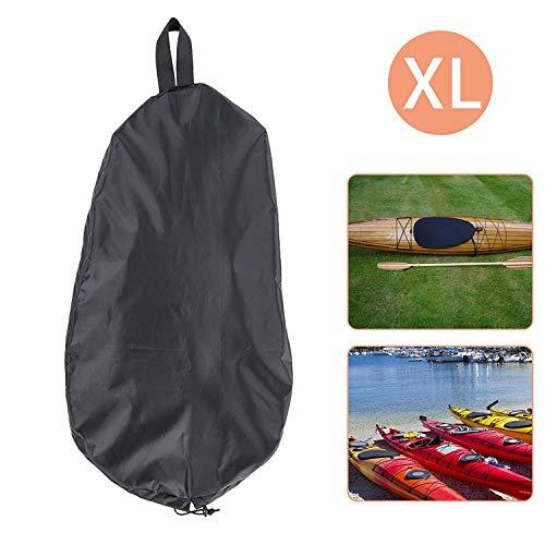 """Linkhood Breathable Adjustable UV50+ Blocking Kayak Cockpit Cover Seal Cockpit Protector Ocean Cockpit Cover 51.2"""" x 25.6""""(X-Large)"""