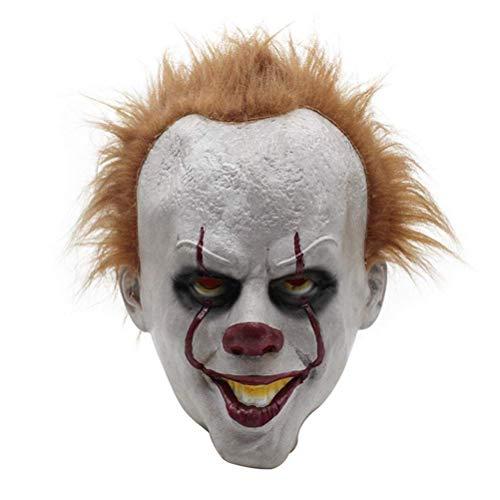 Halloween Scary Latex Clown Maskers, Movie Cosplay Mask Dark Knight Joker Masker voor volwassenen of kinderen ouder dan 6 jaar
