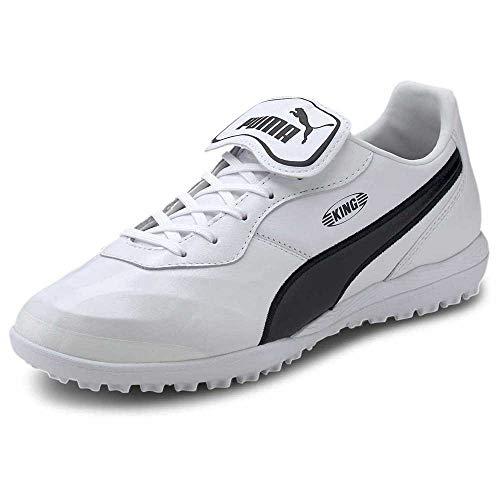 Puma King Top TT, Zapatillas de fútbol Unisex Adulto, Blanco, 43 EU