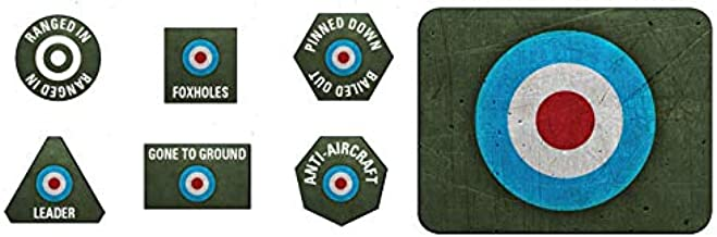 Flames of War: British Tokens and Objectives (BR905)