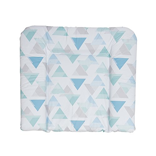 Geuther, Matelas à Langer XL souple, Motif: Triangle - 85 x 75 cm