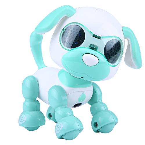 Dilwe Robot Perro de Juguete, Robot Electronico Perro Mascota Juguete Inteligente Niños...