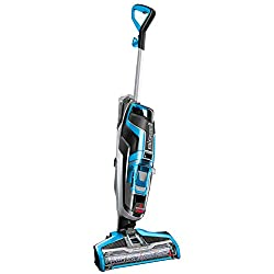 Multi-function 3-in-1 machine vacuums, washes and dries simultaneously. Digital fingertip controls give you full control to best fit your cleaning surface: CrossWave freshens up area rugs and gives hard floors a streak-free shine. Easy to remove sepa...
