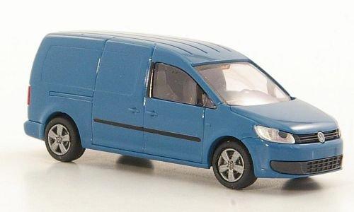 VW Caddy Maxi Kasten, blaugrau, 2011, Modellauto, Fertigmodell, Rietze 1:87