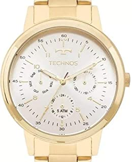 Relógio Feminino Technos Multifunção 6P29AJF/4B Ouro