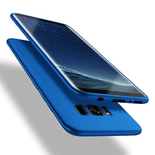 X-level Galaxy S8 Hülle, [Guardian Serie] Soft Flex Silikon Premium TPU Echtes Telefongefühl Handyhülle Schutzhülle für Samsung Galaxy S8 5,8 Zoll Case Cover (Blau)