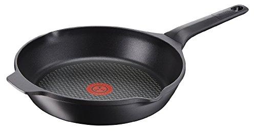Tefal e2150534 pan gietijzer, aluminium, zwart, 26 cm