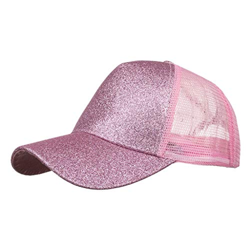 Learn More About Toimothcn Adult Sequin Hat Cap Adjustable Mesh Stiching Baseball Cap Hip Hop Hat Su...