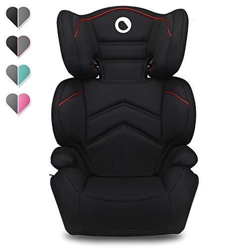Lionelo Lars Kindersitz 15-36 kg Autositz Gruppe 2 3 verstärkte Kopfstütze mit Einstellungsmöglichkeit Seitenschutz Armlehnen Konstruktion ImpactGuard