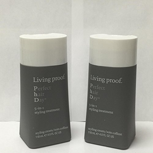 Living Proof Perfect Hair Day 5-in-1 Styling Treatment, 4 Ounce EACH (SET OF TWO)