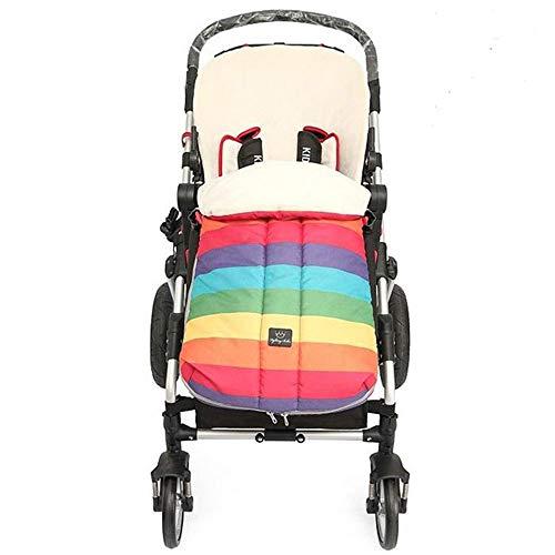 FIFY Kinderwagen Schlafsack Warme Größe Kinderwagen Fußabdeckung Baby Regenschirm Winddicht Fußabdeckung Winter Baumwolle Pad universal Verdickung