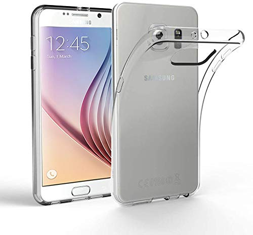puissant Coque EasyAcc pour Samsung Galaxy S6, Samsung Galaxy S6 Coque mince de protection dorsale Compatible avec Coque Invisible Crystal Clear Premium TPU Transparent Anti-Slip Cover