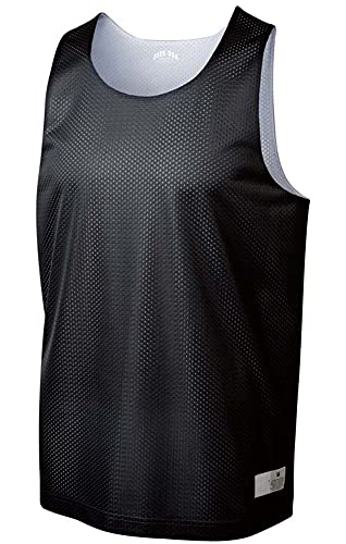 Joe's USA Men's Moisture Wicking Mesh Athletic Reversible Tank-M-Black