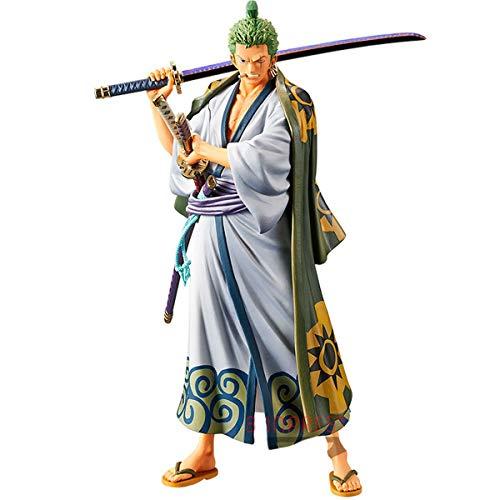 Figure One Piece DXF the Grand Line Men - Wanokuni Vol. 2 Roronoa Zoro Ref. 20218/20219, Bandai Banpresto