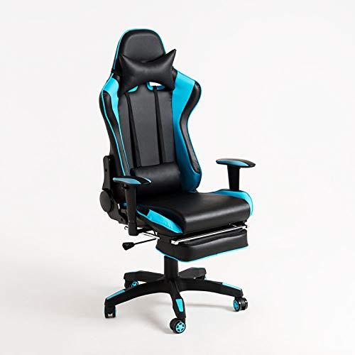 Regalos Miguel - Sillas Gaming - Silla Molen - Azul Celeste - Envío Desde España