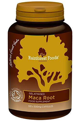 Organic Maca Root 5:1 500mg 120 Capsules
