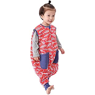 Customer reviews LINAG Newborn Sleeping Bag Pajamas Breathable Bodysuit Sack Swaddle Baby Climbing Anti-kick Legs Spring Cotton Swaddle Robes Split Leg Romper Blanket Toddler Cute Breathable Robes Romper Clothes , e , XL:Comoparardefumar