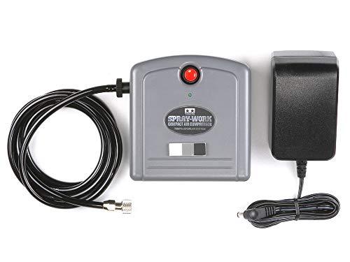TAMIYA 74533 SW Kompressor Compact, für Airbrush, Modellbau Zubehör, Bastelwerkzeug, hochwertiges Modellbauzubehör,300174533